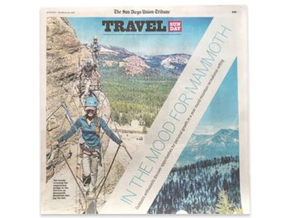 Mammoth Mountain: LA Times + Union Tribune