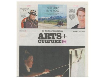 Alaska: San Diego Union Tribune