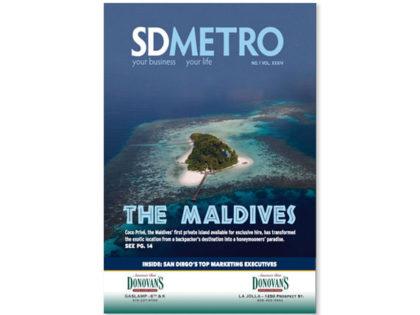 The Maldives: San Diego Metro Magazine