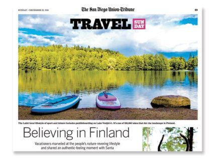 Finland: San Diego Union Tribune